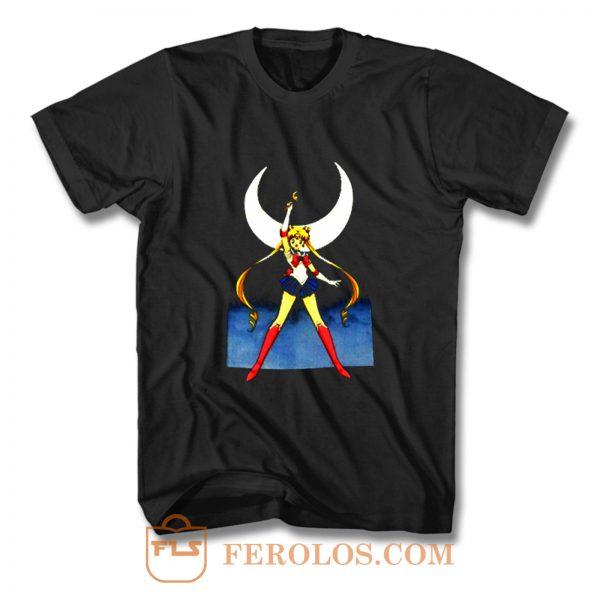 Sailor Moon Naoko Takeuchi Animation T Shirt