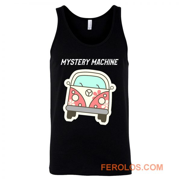 Scooby Doo Mystery Machine Car Tank Top
