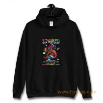 September Girl With Three Sides Hoodie