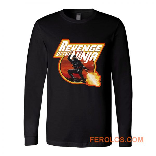 Sho Kosugi Classic Revenge of the Ninja Long Sleeve