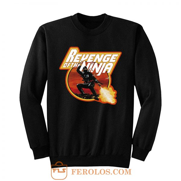 Sho Kosugi Classic Revenge of the Ninja Sweatshirt