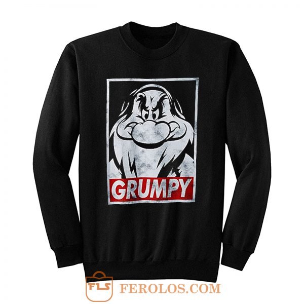 Snow White and Seven Dwarfs Grumpy Sweatshirt