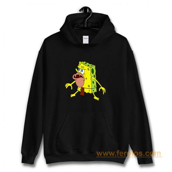 Spongeboob Funny Jurasic Time Hoodie