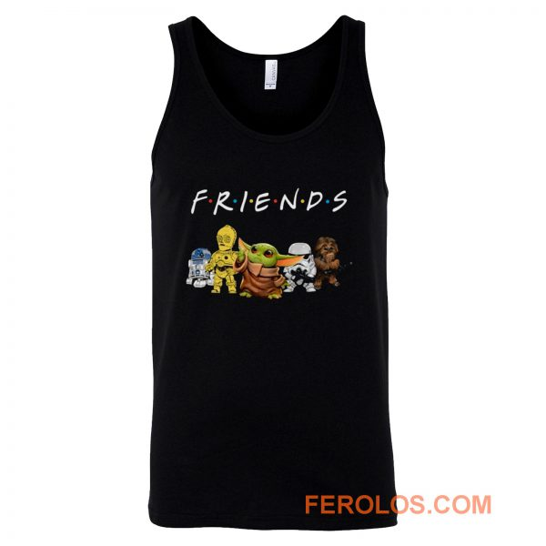 Star Wars And Friend Tank Top
