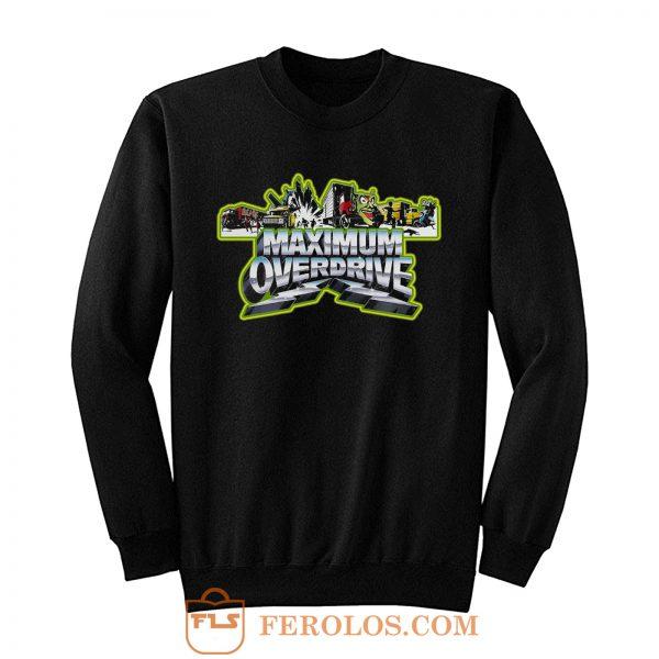 Stephen King Classic Maximum Overdrive Sweatshirt