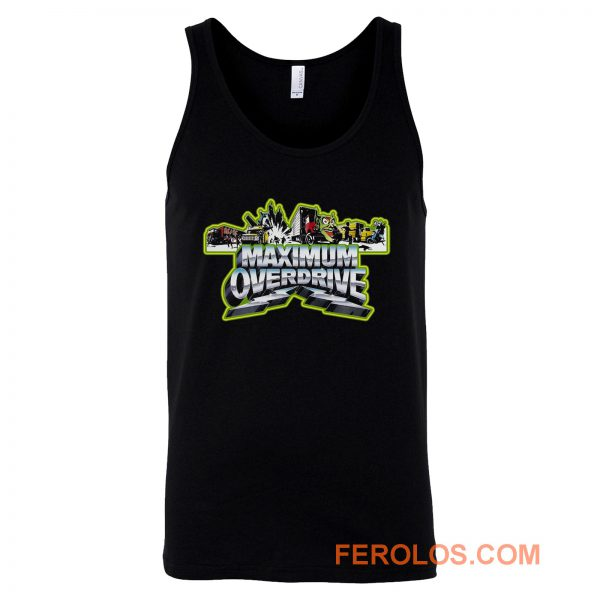 Stephen King Classic Maximum Overdrive Tank Top