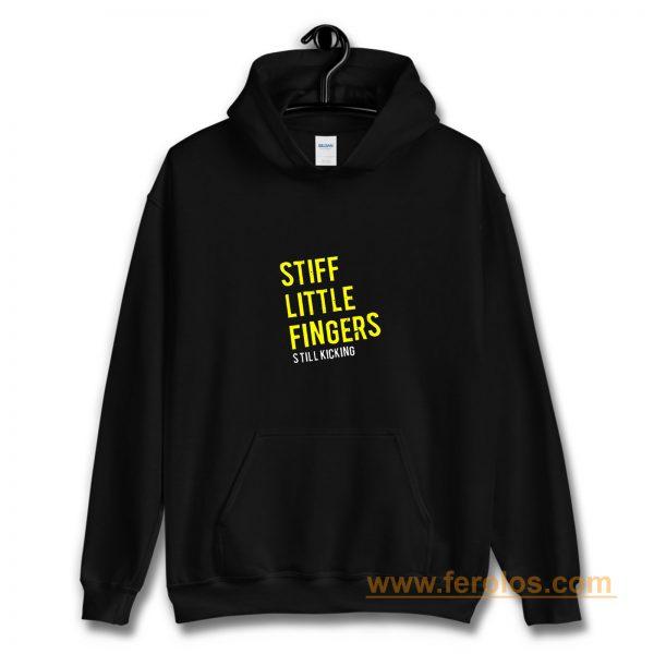 Stiff Little Fingers new tee black white Hoodie