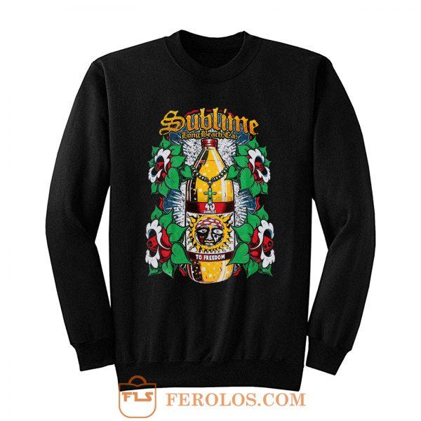 Sublime To Freedom Multi Color Sweatshirt