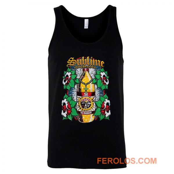 Sublime To Freedom Multi Color Tank Top