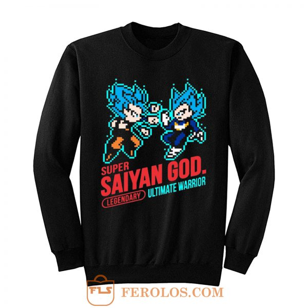 Super Saiyan God Dragon Ball Vintage Sweatshirt