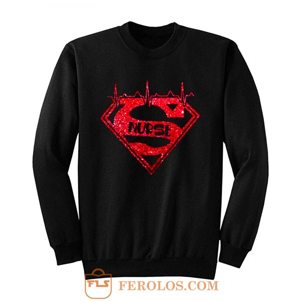 Superhero Nurse Sweatshirt