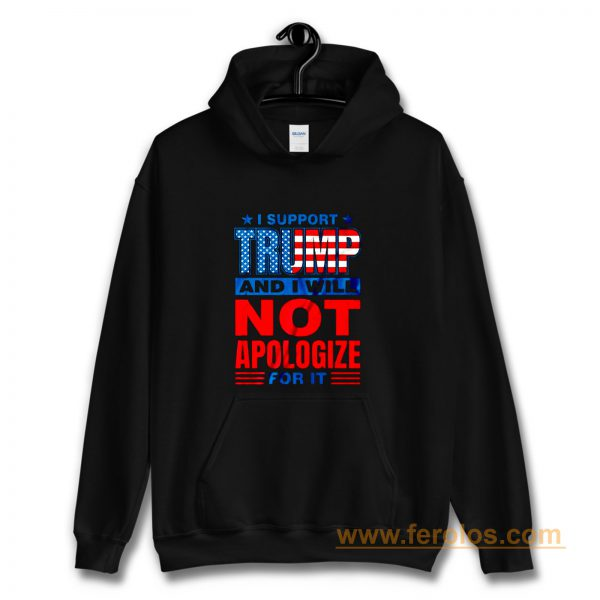 Support Trump Donald Trump 2020 Hoodie