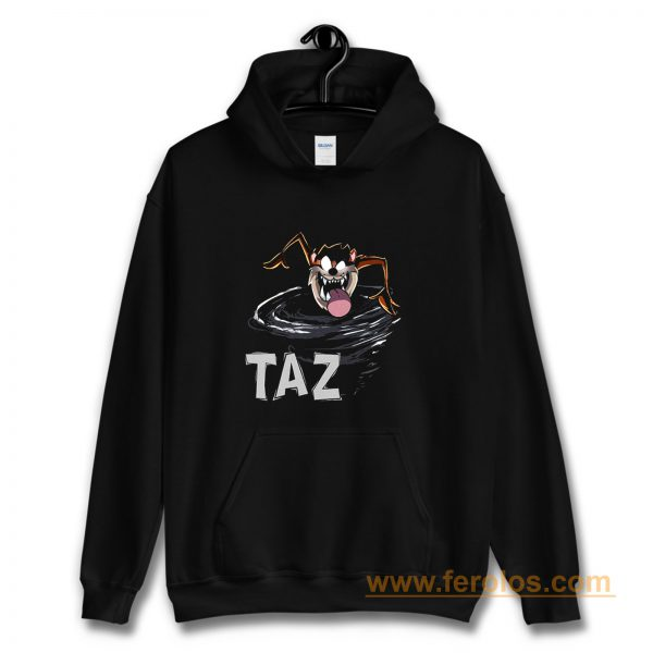 TAZ Tazmania Devil Looney Tunes Classic Cartoon Hoodie