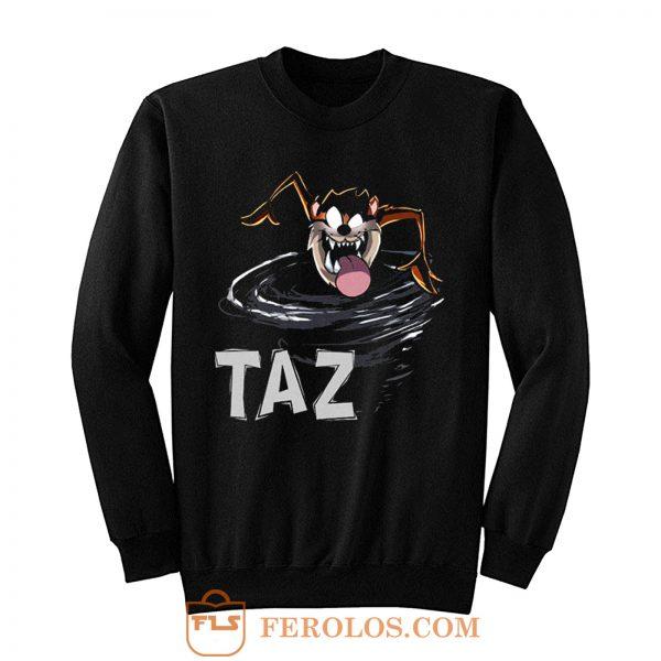 TAZ Tazmania Devil Looney Tunes Classic Cartoon Sweatshirt