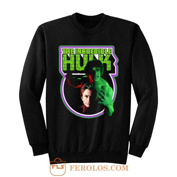 TV Classic The Incredible Hulk Sweatshirt