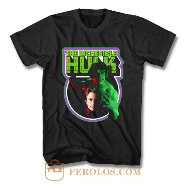 TV Classic The Incredible Hulk T Shirt