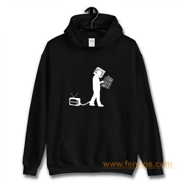 Television Make Me Consume Hoodie
