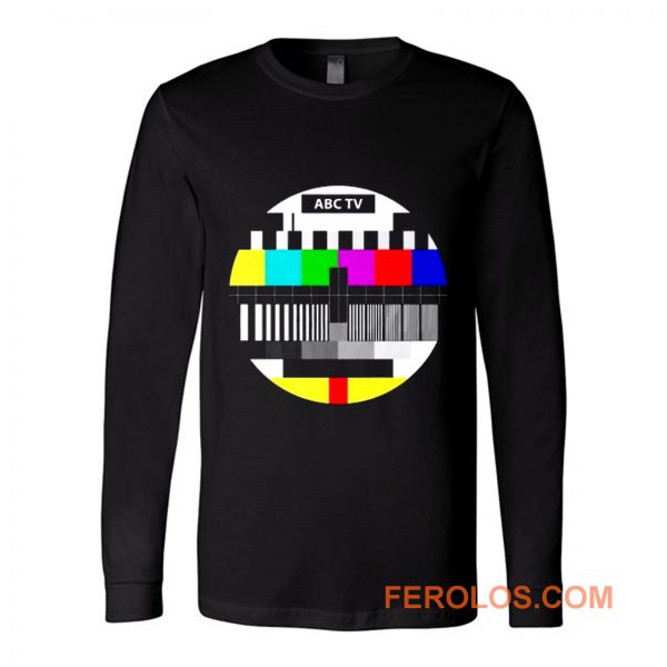 Test Pattern Television Long Sleeve