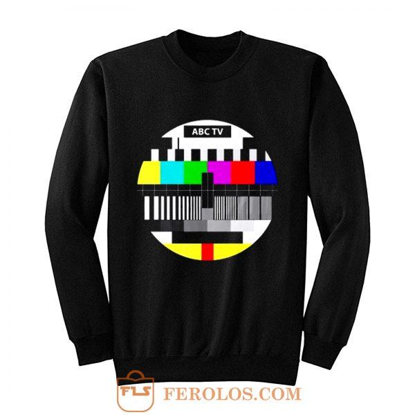 Test Pattern Television Sweatshirt