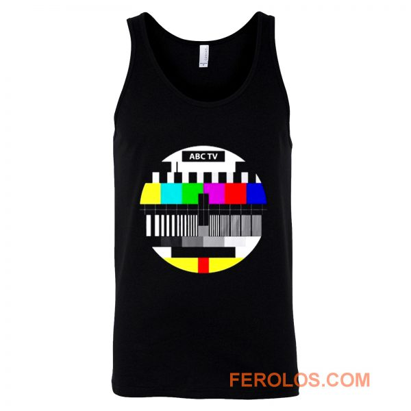 Test Pattern Television Tank Top