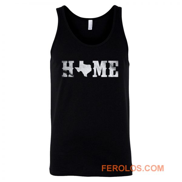 Texas Home Texan Pride The Lonestar State Tejano Tank Top