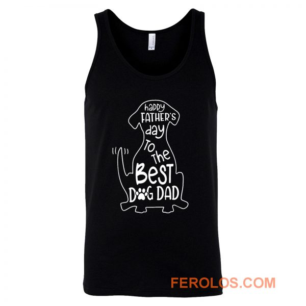 The Best Dog Dad Tank Top