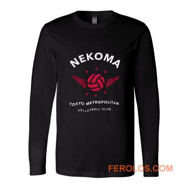 The Bodys Blood Volleyball Club Tokyo Metropolitan Long Sleeve