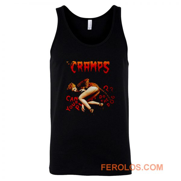 The Cramps Can Your Tiger Pussy Do The Dog Tank Top