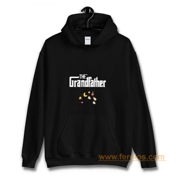 The Grandfather Granddad Baby Pregnancy Announcement First Time Grandpa Hoodie
