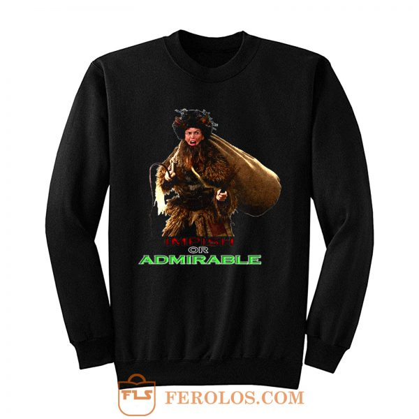 The Office Christmas Dwight Schrute Belsnickel Funny Tv Show Sweatshirt