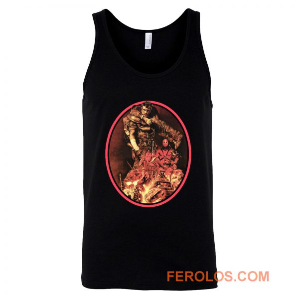 The Road Warrior Japanese Tank Top