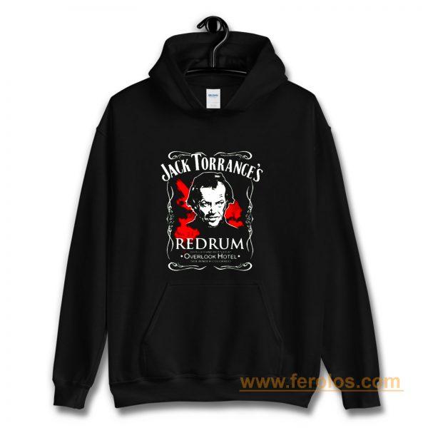 The Shining Jack Torrances Redrum Stephen King Kubrick Horror Movie Classic Hoodie
