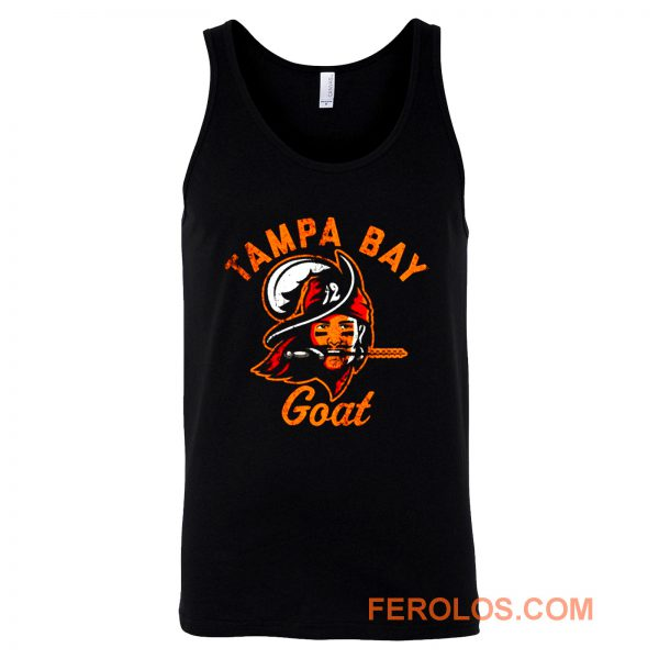 The Tampa Bay Goat Tampa Bay Buccaneers Tom Brady Tank Top