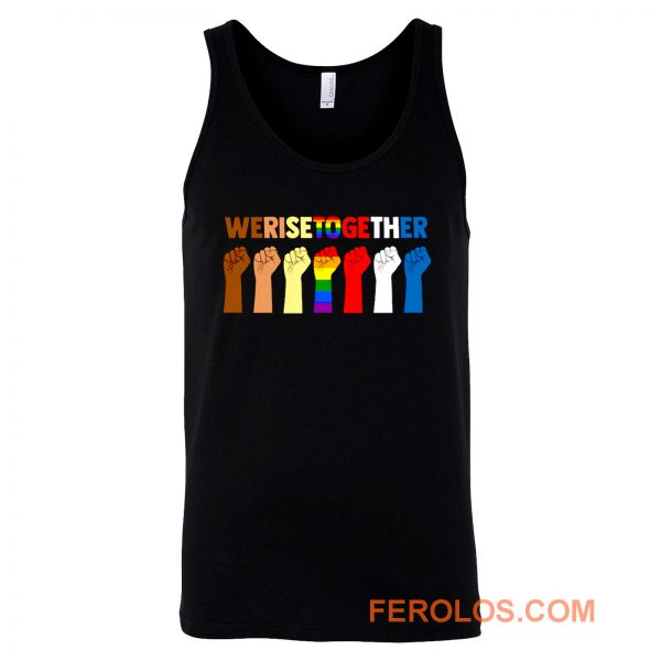 Together We Will Rise Coexist Tank Top