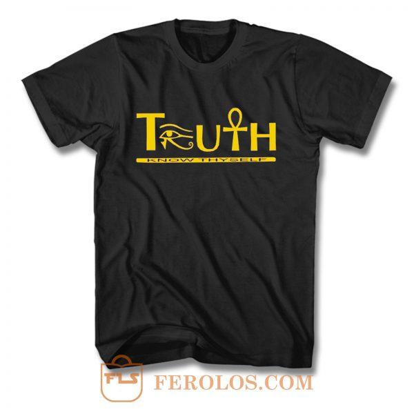 Truth Eye of Horus Eye of Heru T Shirt