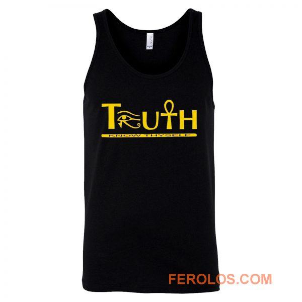 Truth Eye of Horus Eye of Heru Tank Top