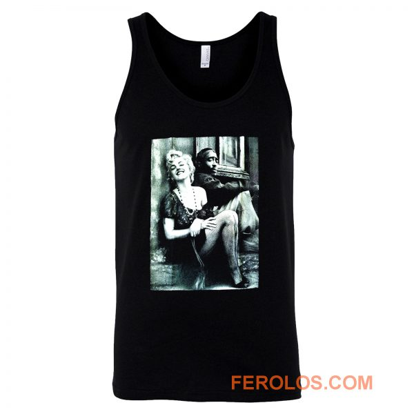 Tupac And Marilyn Monroe Couple Tank Top