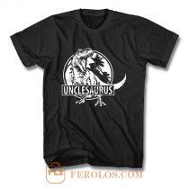 Unclesaurus Dinosaur Uncle Funny T Shirt