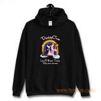Unicorn Daddy And Rainbow Hoodie