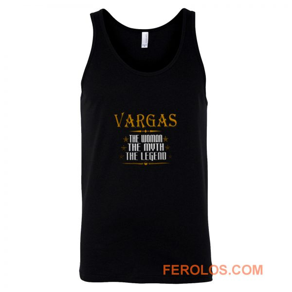 VARGAS The Woman The Myth The Legend Thing Shirts Ladies Tank Top