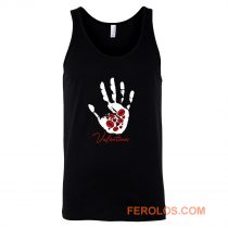Valentines Day Kisses Hearts Day Love Tank Top
