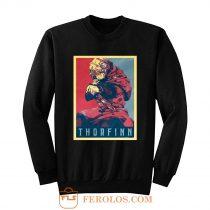 Vinland Saga Thorfinn Political Sweatshirt