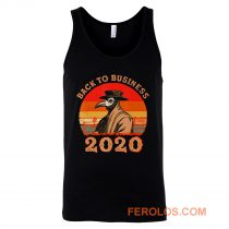 Vintage Back To Business 2020 Plague Doctor Tank Top