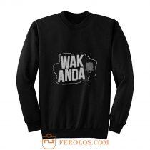 WAKANDA Panther Map Sweatshirt