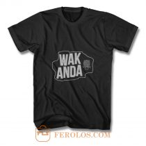 WAKANDA Panther Map T Shirt