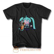 Watch Out Miku Gun T Shirt