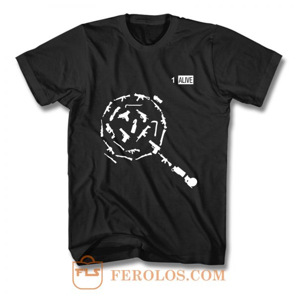 Weapons of PUBG T Shirt