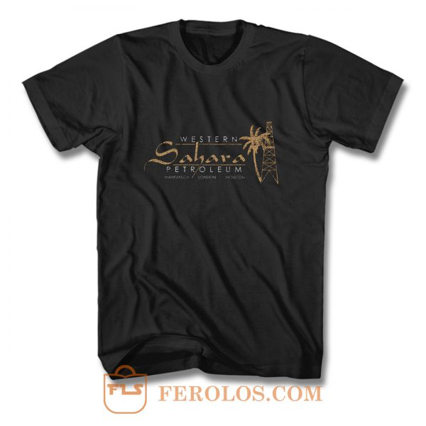 Western Sahara Petroleum distressed T Shirt