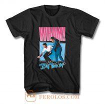 Wham Big Tour 84 George Michael T Shirt