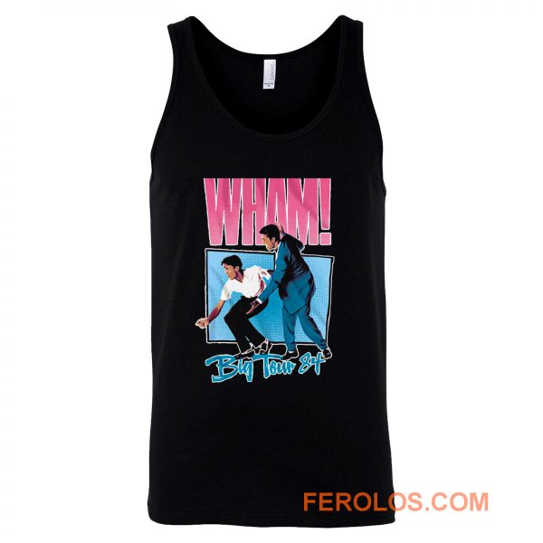 Wham Big Tour 84 George Michael Tank Top